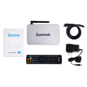 Cheapest Zoomtak H8 TV Box with Quad Core Amlogic S905X Android 6.0 OS pictures & photos