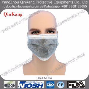 Disposable Non Woven Active Carbon Surgical Earloop Face Mask pictures & photos