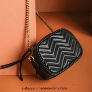 New Trendy PU Embroidered Cross Body Bag Fashion Bags pictures & photos