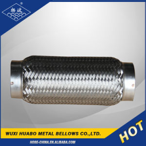 Flange Connection and Stainless Steel Material Exhaust Flexible Pipe pictures & photos