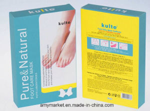 Kuite Foot Silky Mask Soffholic Foot Mask Pure Natural Foot Care Mask Kuite Laboratories Mineral Oil and Hyaluronate Foot Mask pictures & photos
