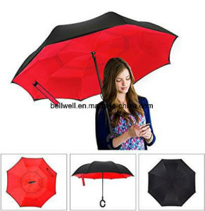 Inside-out Umbrella, Upside Down Umbrella pictures & photos