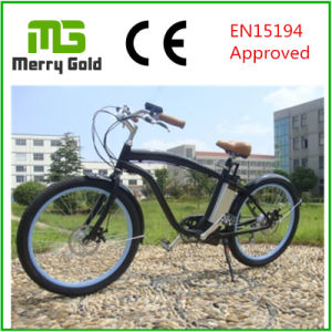 LCD Display Ebike Beach Cruiser Electric Bike 36V 250W for Men pictures & photos