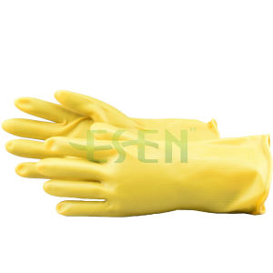Yellow Electrical Rubber Glove/Rubber Glove Electrical Resistant Glove pictures & photos