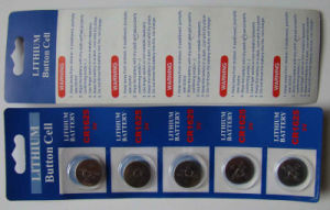 Lithium Button Cell Battery Cr1625