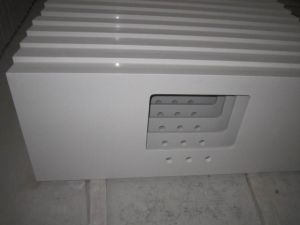 Artificial Solid Surface White Quartz Countertop Vanity Top Kitchen Top Quartz Slabs pictures & photos