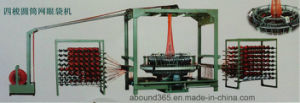 Four Shuttle Circular Loom for Mesh Bag pictures & photos