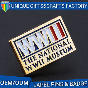 Best Selling Metal Logo Brooch with Enamel or Print Craft pictures & photos
