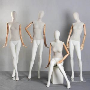 Fiberglass Mannequin Female with Egg Head pictures & photos