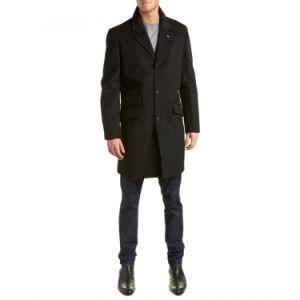 Black Long Winter Coat for Men pictures & photos