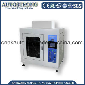 Burning Tester for Needle Flame Resistance Test of Plastic pictures & photos