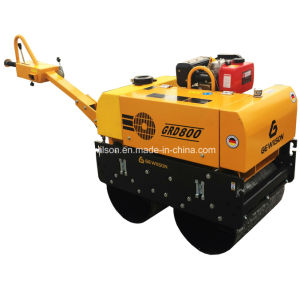 Saso Hydraulic Vibratory Road Roller Powered by Honda pictures & photos
