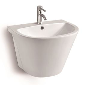 G810 Wall Mounted Ceramic Basin pictures & photos
