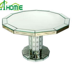 High Glossy Venetian Mirror Table Home Decor Dining Table pictures & photos