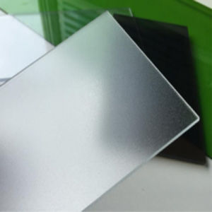 1.5mm Frosted Solid Polycarbonate PC Plastic Roofing Sheets LED Light Diffuser pictures & photos