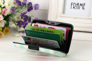 Aluma Customized Promotional Gift Credit Card Holder pictures & photos