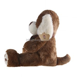 Big Hugged Plush Dog Toy with Scarf pictures & photos