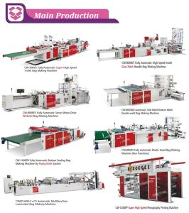 High Speed Shopping and Tshirt Bag Making Machine (500PCS/min) pictures & photos