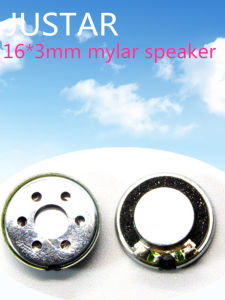 16mm 8-16ohm 0.25-1W Bluetooth Speaker with RoHS pictures & photos