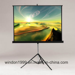 "Matte White Portable Tripod Front Projection Screen 60""X60"" pictures & photos"