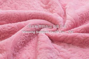 Three in One Embroidered Coral Fleece Blanket/Baby Blanket - Flower pictures & photos