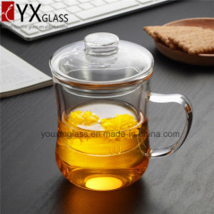 350ml Popular Glass Tea Cup Set/Hand-Made Resistant Borosilicate Glass Tea Cup Set/Hot-Sale Single Wall Glass Cup Set pictures & photos