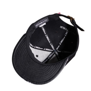 Custom Metal Logo 6 Panels Fashion Hip Hop Cap Snapback pictures & photos
