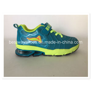 Kids Sports Shoes Running Shoes Sneaker Mirror Leather Shoes pictures & photos