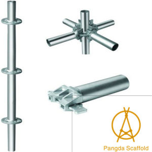 China Products Steel Construction Ringlock Scaffold pictures & photos