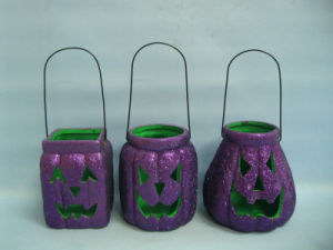 Halloween Pumpkin Ceramic Arts and Crafts (LOE2379-13z)