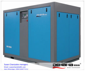 55kw 75HP Quality and Quantity Assured Belt Driven Screw Air Compressor pictures & photos