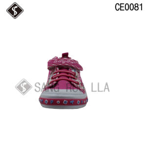 Kids Fashion Sports Vulcanized Sneaker Shoes pictures & photos