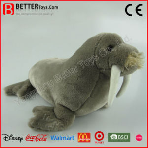 Realistic Stuffed Sea Animal Plush Walrus Toy pictures & photos