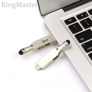Mini USB Interface Swivel Metal USB Stick Flash Drive Screen Touch pictures & photos