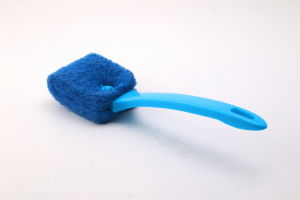 Cheap Price Wholesale Kitchen Cleaning Green Nylon Brush pictures & photos