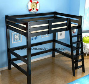 Solid Wood Bunk Bed Height Fluctuation Shop Female Children Bed (M-X3735) pictures & photos