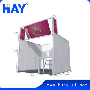 3X3X3.5m Exhibition Stanard Shell Scheme Booth Design