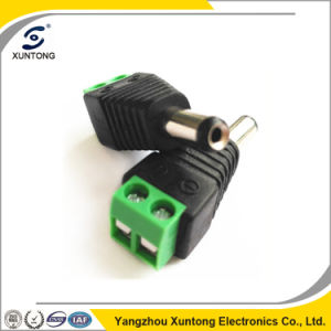 2.5mm Male & Female DC Adapter CCTV Video Balun Terminals Connector pictures & photos