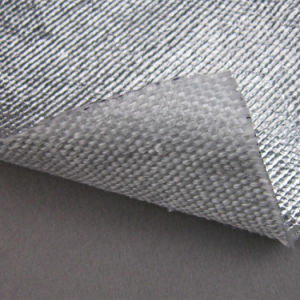 High Temperature Resistant Heat Reflective Aluminized Fabric pictures & photos
