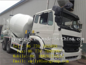 China Sinotruk HOWO 6X4 Concrete Mixer Truck pictures & photos