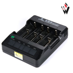 Xtar Vp4 - 4 Bay LCD Lithium Ion Charger