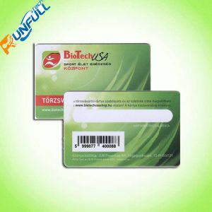 PVC Barcode Membership Card with OEM Service pictures & photos