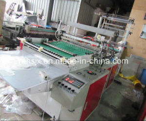 High Speed Side Sealing Heat Cutting Bag Making Machine pictures & photos