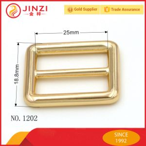 Hot Sale 1 Inch Tri-Glide Button, Metal Square Buckle pictures & photos