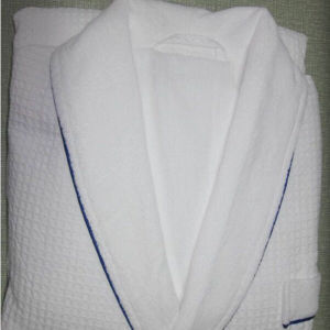 Shawl Collar Bathrobe for Hotel/Home Usage (DPF10130) pictures & photos
