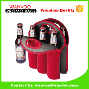 Insulated Neoprene Wine Drink Liquor Bottle Cooler Bag Can Packing Holder pictures & photos