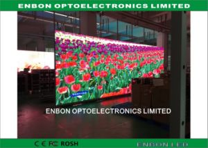 Slim Aluminum Panel P7.62 Full Color Indoor LED Display Screen for Rental pictures & photos