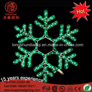 Outdoor Xmas Window Decoration Crystal LED Snowflake Light pictures & photos