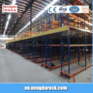 Mezzanine Rack Attic Shelves Steel Sturcture for Storage pictures & photos