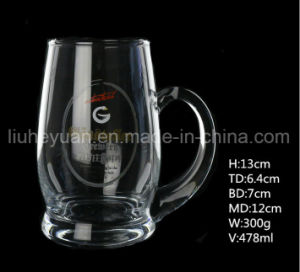 High-Grade Glass Beer Cups, Hand Cups, Drinks Cups pictures & photos